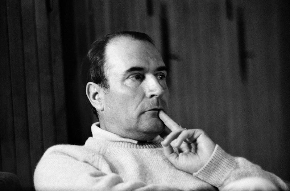 François Mitterrand, Hossegor, France, 1967