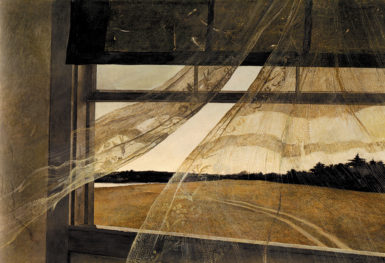 Andrew Wyeth: Wind from the Sea, 1947