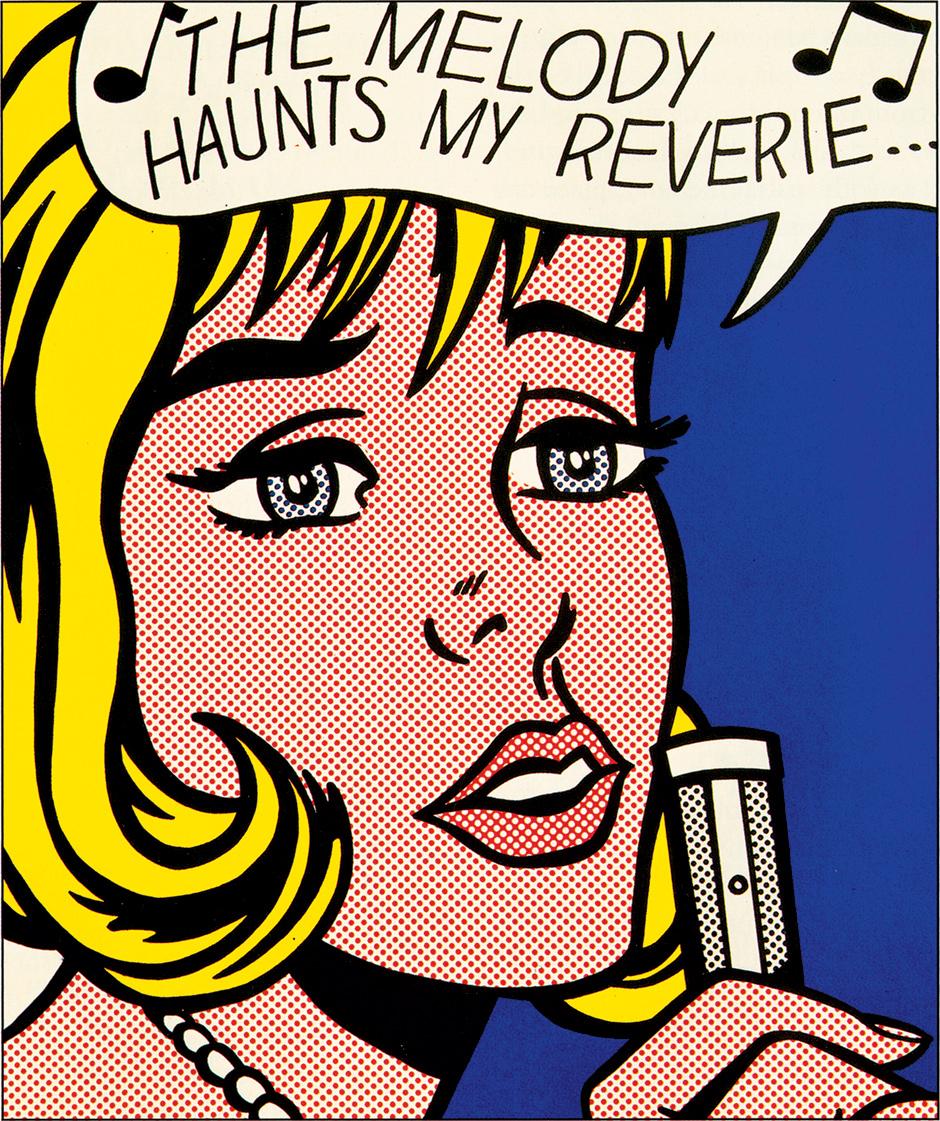 Roy Lichtenstein: The Melody Haunts My Reverie, 1965