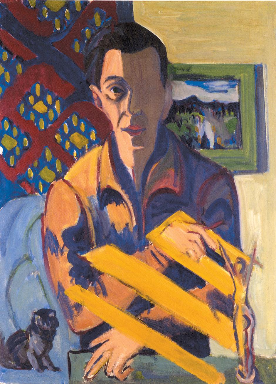 Ernst Ludwig Kirchner: Self-Portrait, 1934/1937