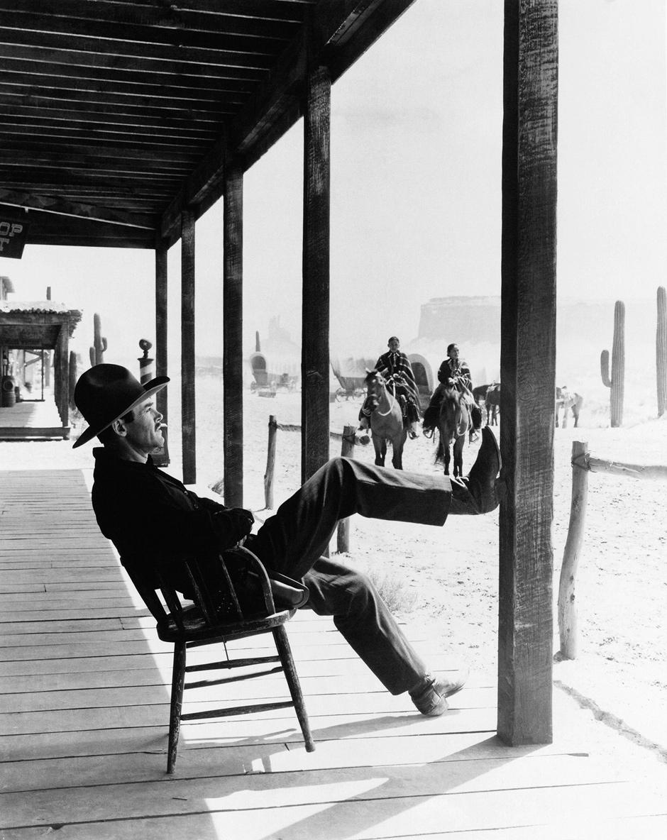 Henry Fonda as Wyatt Earp in John Ford's My Darling Clementine, 1946