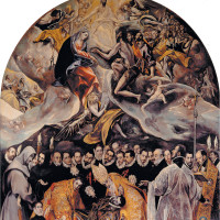 El Greco: <i>The Burial of the Count of Orgaz</i>, 1586–1588
