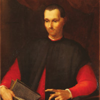 Portrait of Niccolò Machiavelli by Rosso Fiorentino, early sixteenth century