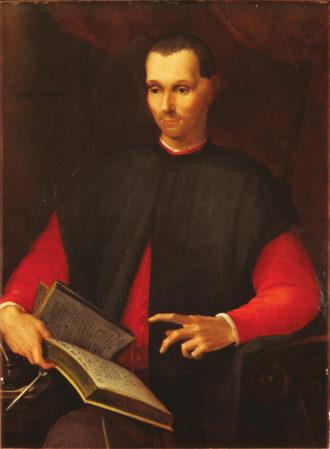 Portrait of Niccolò Machiavelli by Rosso Fiorentino, early sixteenth century