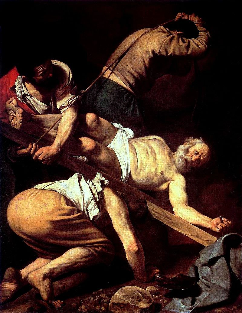 Caravaggio: The Crucifixion of St.jpg