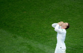 England's Wayne Rooney during England's World Cup match against Uruguay, June 19, 2014