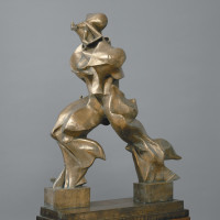 Umberto Boccioni: Unique Forms of Continuity in Space, 1913 (cast 1949)