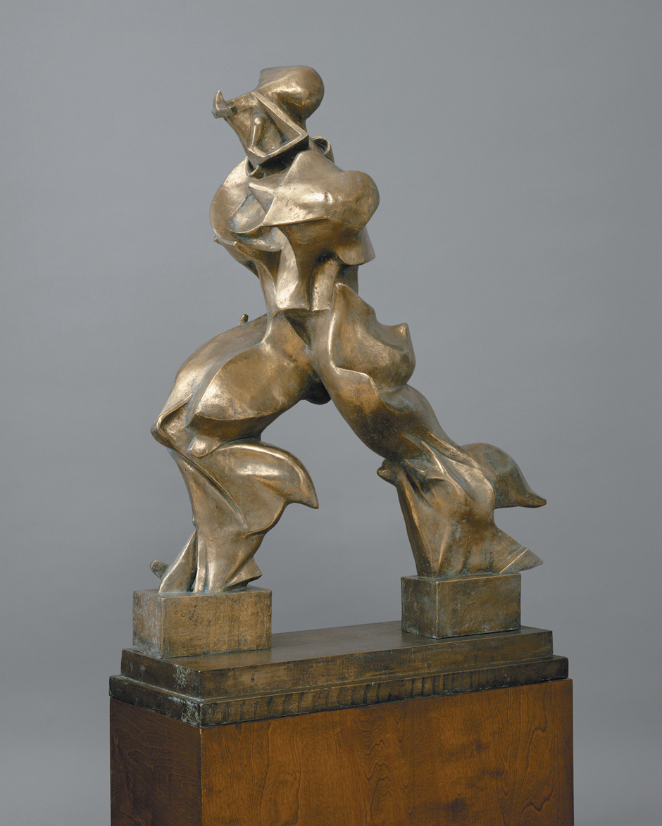 Umberto Boccioni: Unique Forms of Continuity in Space, 1913 (cast 1949)