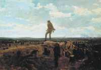 Winslow Homer: Defiance: Inviting a Shot Before Petersburg, 1864