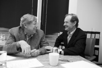 Theodore Olson and David Boies, who led the victorious challenge to California's Proposition 8, which had declared that only marriages between a man and a woman were legal