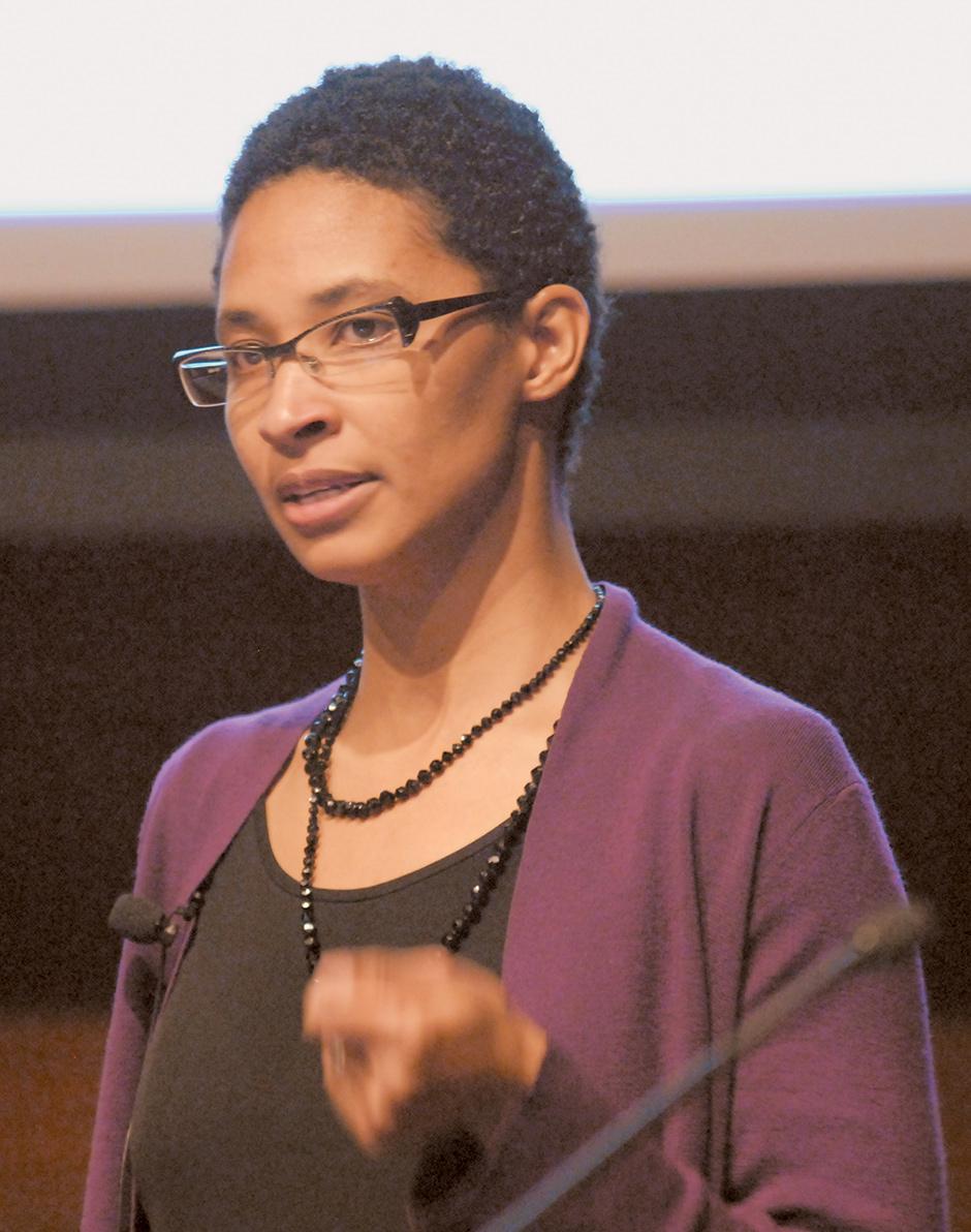 Danielle Allen at the Institute for Advanced Study in Princeton, 2008