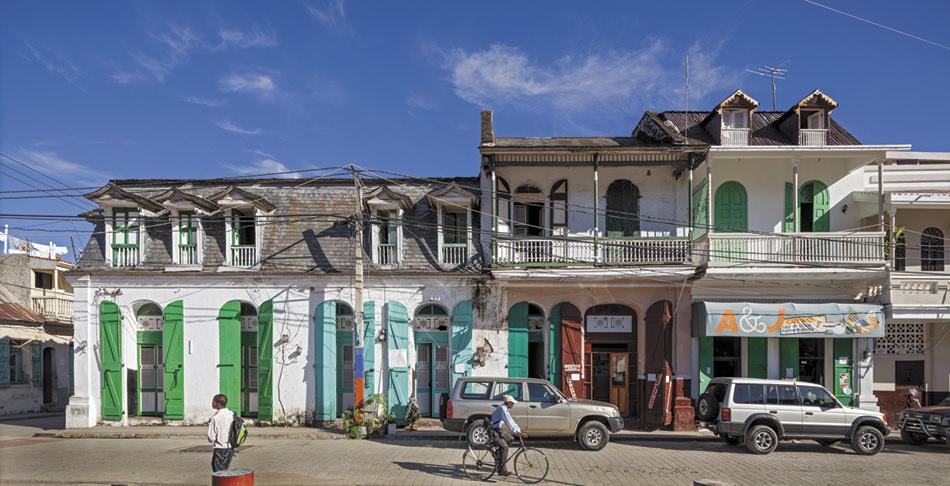 Richard Sexton: Street scene on Rue H .jpg