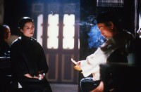 A scene from Hou Hsiao-hsien's The Puppetmaster (1993)