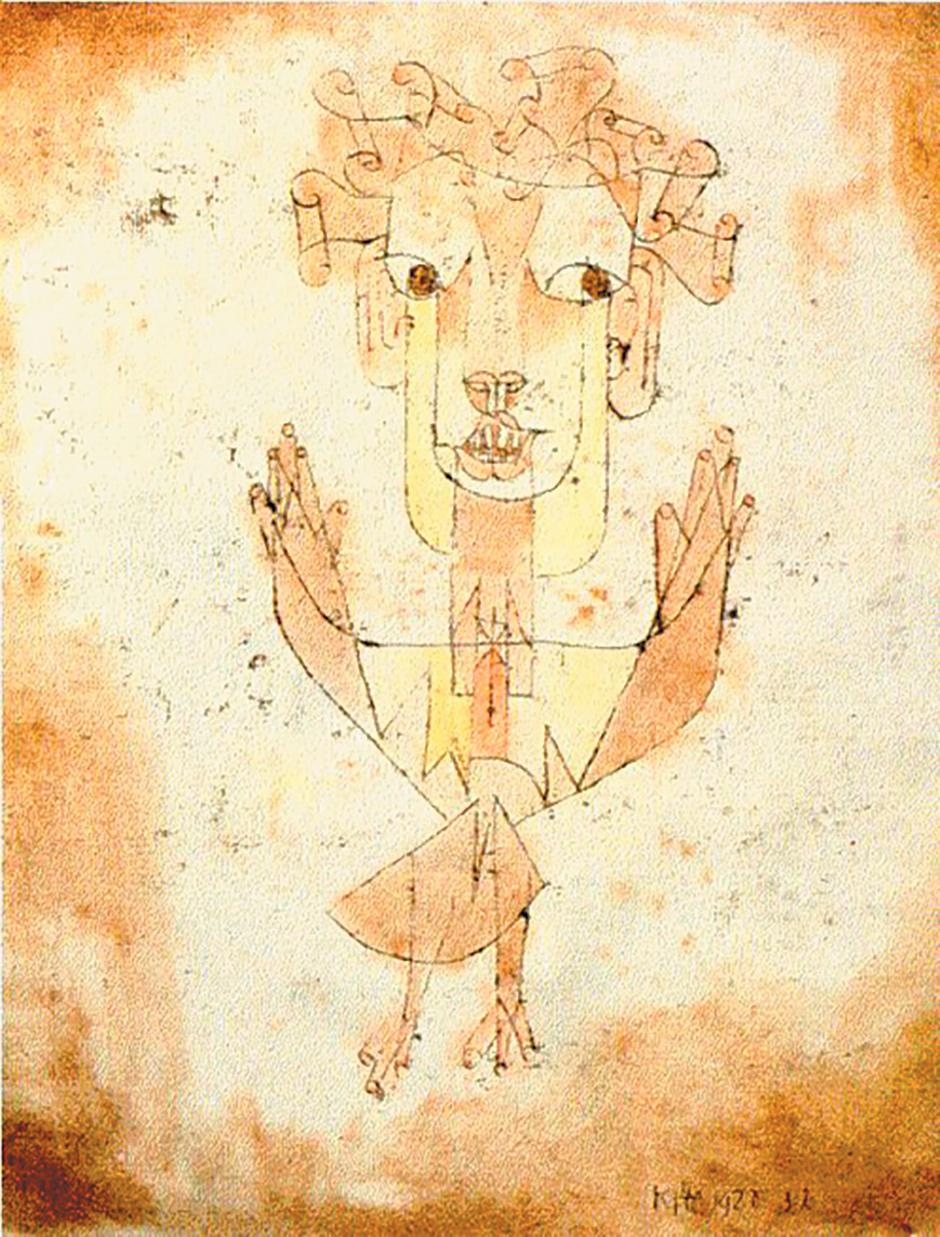 Paul Klee: Angelus Novus, 1920