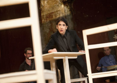 Kathryn Hunter in Peter Brook's The Valley of Astonishment