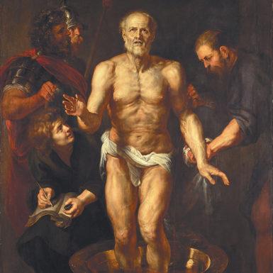 Peter Paul Rubens: The Death of Seneca, 1612–1613