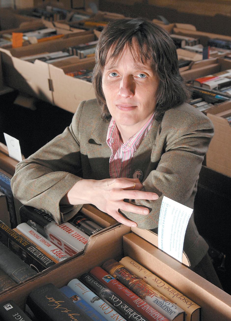 A.L. Kennedy, Edinburgh, Scotland, 2008