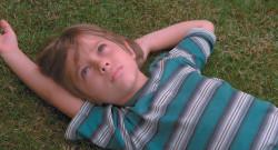 Ellar Coltrane as Mason, age six, in Richard Linklater's film <i>Boyhood</i>