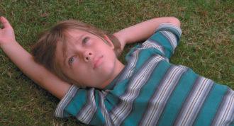 Ellar Coltrane as Mason, age six, in Richard Linklater's film Boyhood