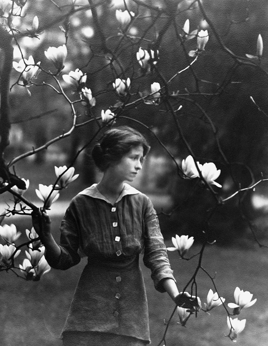 Edna St. Vincent Millay, 1914; photograph by Arnold Genthe