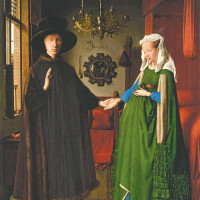 Jan Van Eyck: The Arnolfini Wedding, circa 1435