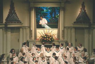 First Baptist Church, Waco, Texas, 1990; photograph by Hiroji Kubota