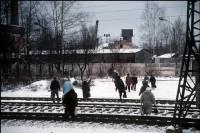Aprelevka train station, Russia, 1997