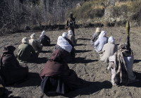 Pakistani Taliban at a training camp in South Waziristan, Pakistan, December, 2011