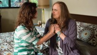 Amy Landecker and Jeffrey Tambor in a scene from Transparent