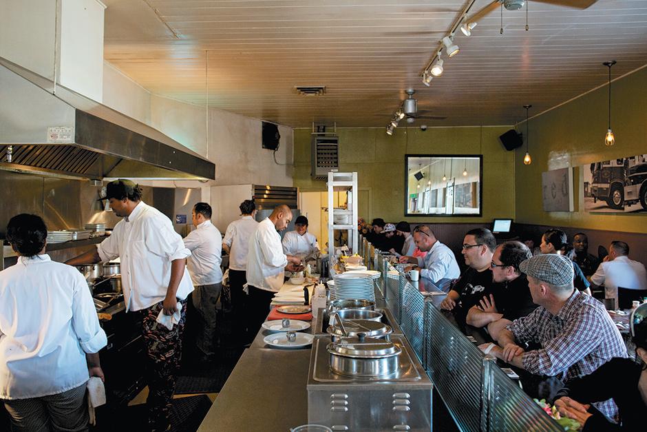 Tanya Holland's West Oakland restaurant Brown Sugar Kitchen