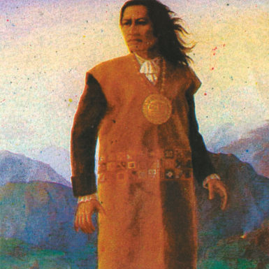 Tupac Amaru II, the late-eighteenth-century leader of the Peruvian rebellion against the Spanish crown