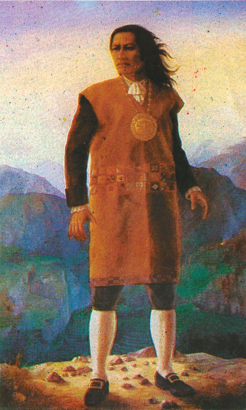Tupac Amaru II, the late-eighteenth-century leader of the Peruvian rebellion against the Spanish crown