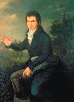 Willibrord Joseph Mahler: <i>Ludwig van Beethoven</i>, 1804