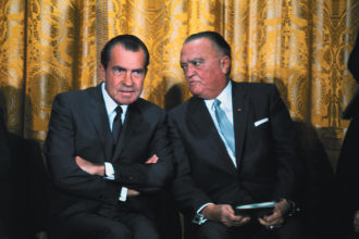Richard Nixon and J. Edgar Hoover, Washington D.C., May 1969