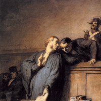 Honoré Daumier: A Criminal Case