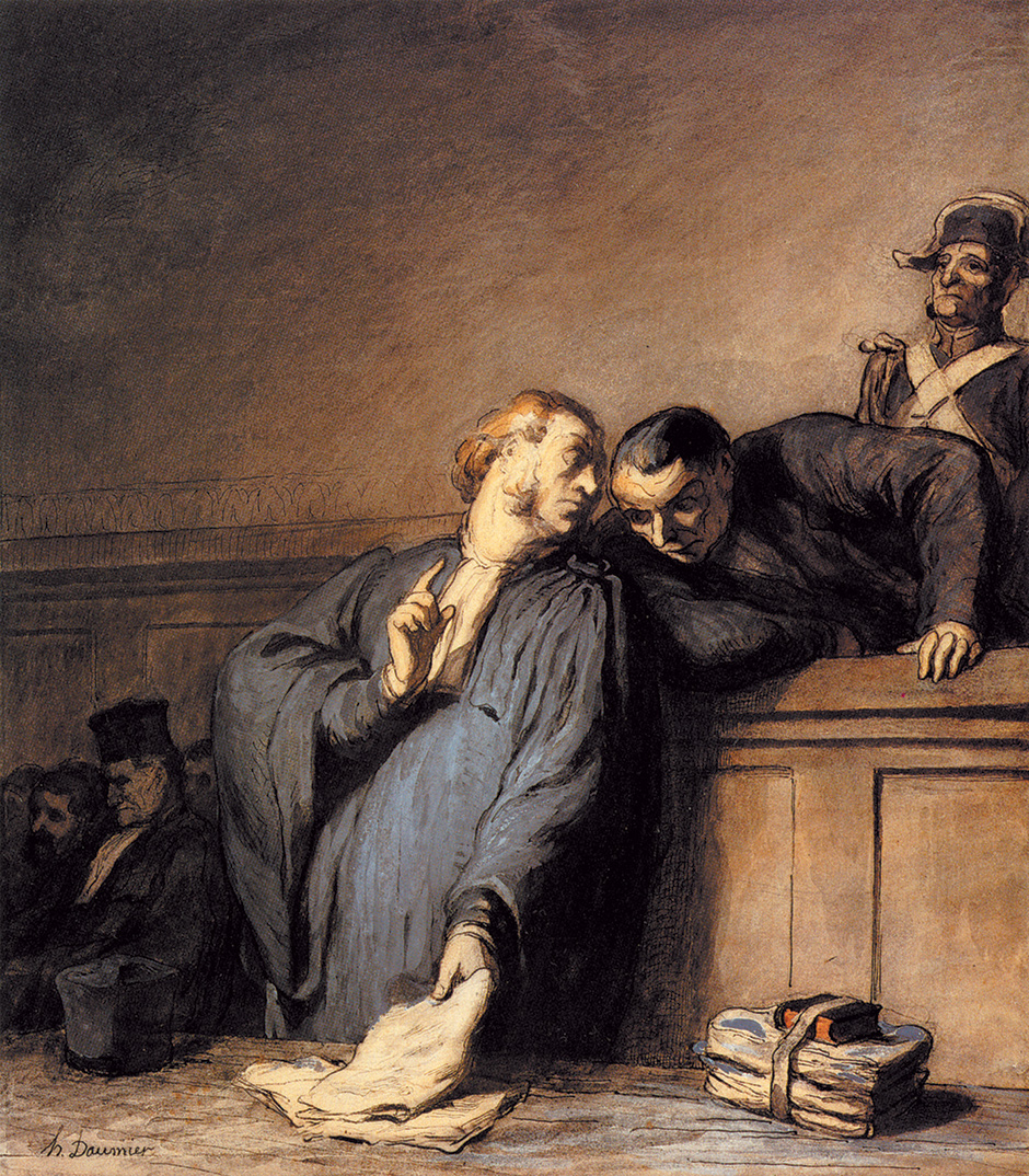 Why innocent people plead guilty by jed s rakoff the new york rakoff112014g honor daumier a criminal case fandeluxe Choice Image