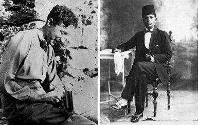 E.M. Forster and Mohammed el-Adl, Alexandria, circa 1917