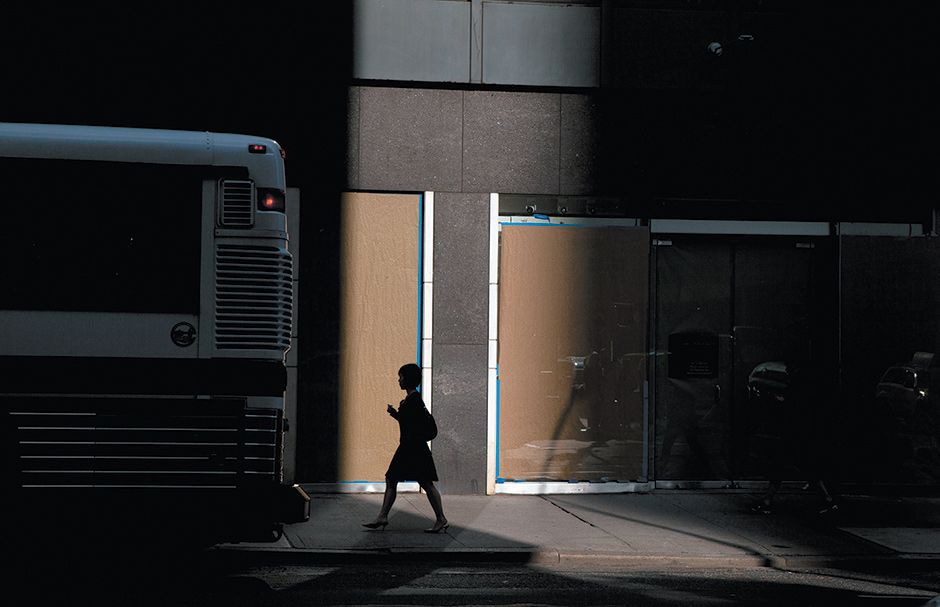 New York City, 2009; photograph by Amani Willett. A collection of his images, Disquiet, was published by Damiani last year.