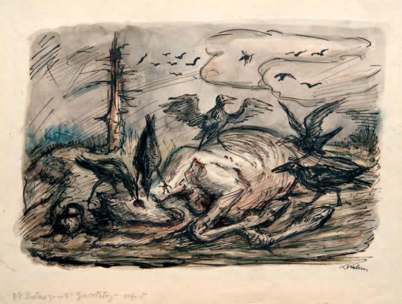 Kubin horse cadaver.jpg