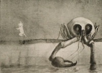 Alfred Kubin: The Moment of Birth, 1903