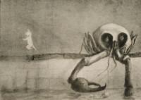 Alfred Kubin: <em>The Moment of Birth</em>, 1903