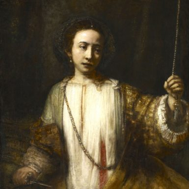 Rembrandt van Rijn: Lucretia, 1666