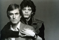 Sam Wagstaff (left) and Robert Mapplethorpe, 1974; photograph by Francesco Scavullo