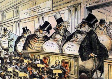Joseph Keppler: The Bosses of the Senate, 1889