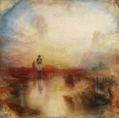 J.M.W. Turner: War: The Exile and the Rock Limpet, 1842
