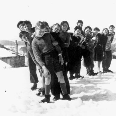 Jewish children sheltered by the Protestant population of the village of Le Chambon-sur-Lignon, France, circa 1941–1944