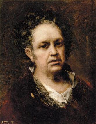 Francisco Goya: Self-Portrait, 1815