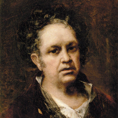 Francisco Goya: Self-Portrait, 1815