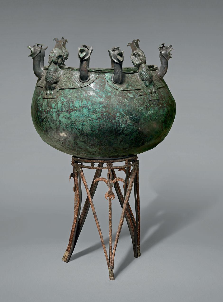 cauldron stand Assyria.jpg
