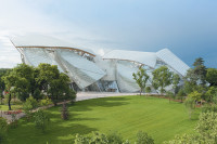 The Fondation Louis Vuitton, designed by Frank Gehry, Paris, 2014